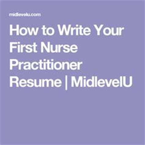 Sample essay for nurse practitioner school